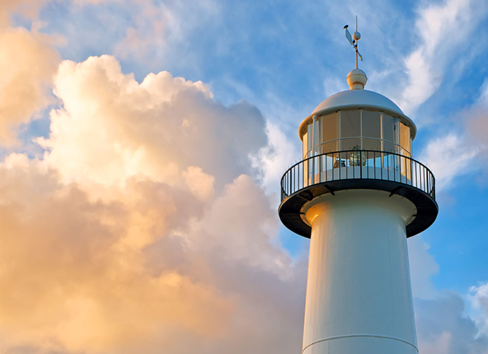 Biloxi Lighthouse Renovation | J.O. Collins Contractor, Inc. |Serving The Mississippi Gulf Coast with Quality & Integrity Since 1954 | (228) 374-5314 clark_matthews@jocci.net | 206 Iberville Drive P.O. Box 1205 Biloxi, MS 39533 | Photography Alex North